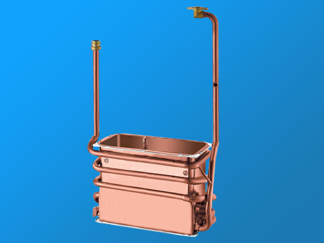 W14L-A anaerobic copper heat exchanger